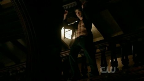 Damon dancing go one