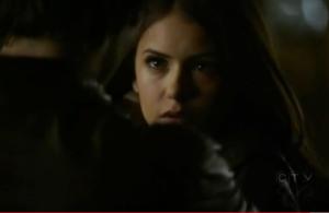 Damon Elena necklace scene