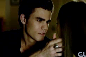 Insanely hot Stefan stare