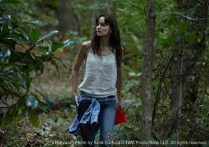 Lori Grimes forages