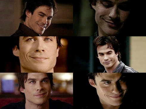 many different faces of Damon