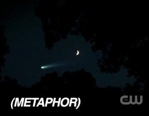 Metaphor comet