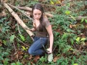 Jodelle Katniss Halloween3