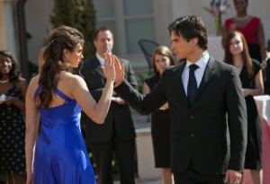 Elena Damon dancing