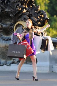 Katniss Shopping Blair