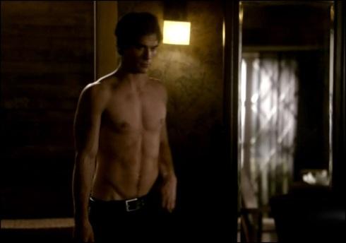 shirtless-damon