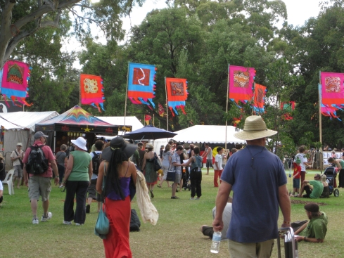 WOMADflags